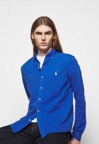 Polo Ralph Lauren - FEATHERWEIGHT MESH SHIRT - Chemise - dockside blue - 3