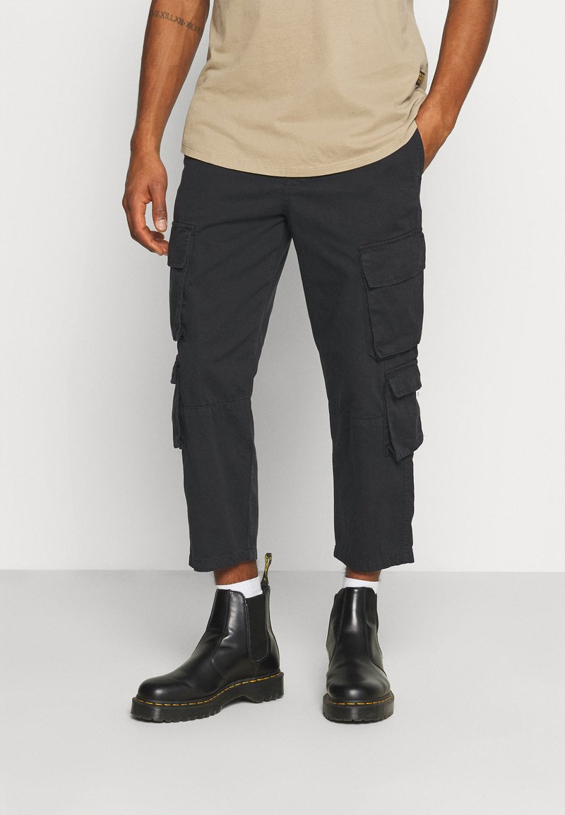 Another Influence - CARTER TROUSERS - Pantaloni - black