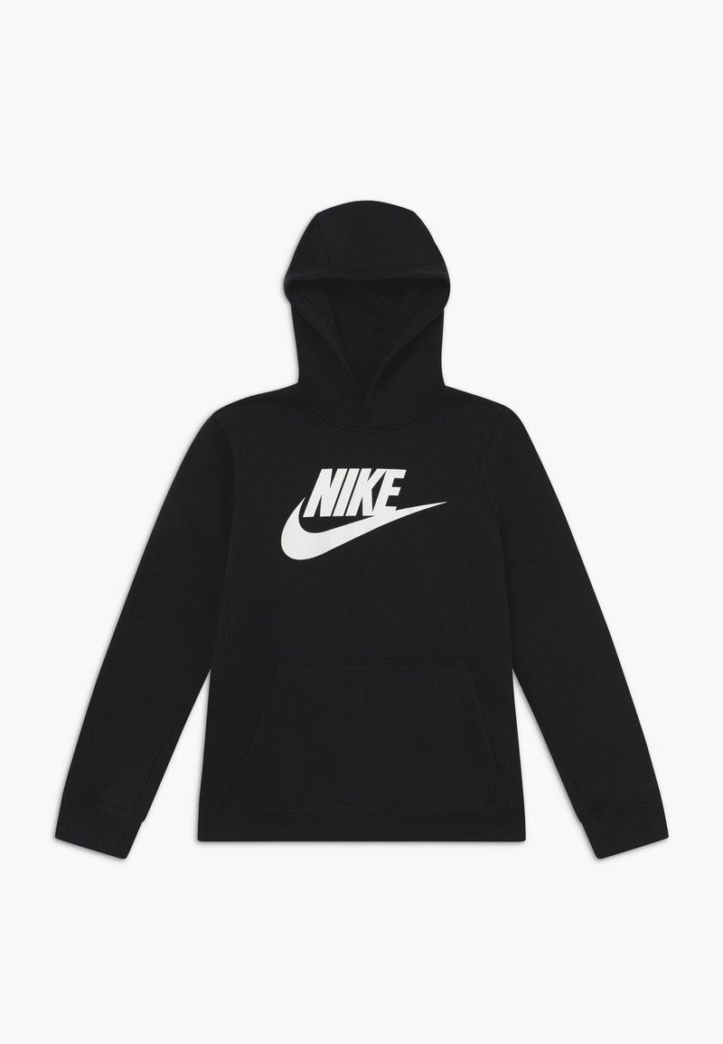 Nike Sportswear - CLUB - Bluza z kapturem - black/white
