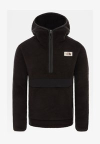 The North Face - M CAMPSHIRE PULLOVER HOODIE - Hoodie - tnf black/tnf black - 1