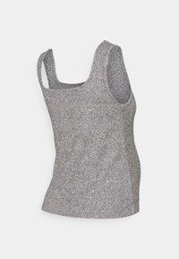 Topshop Maternity - BRUSHED NECK VEST - Top - grey - 1