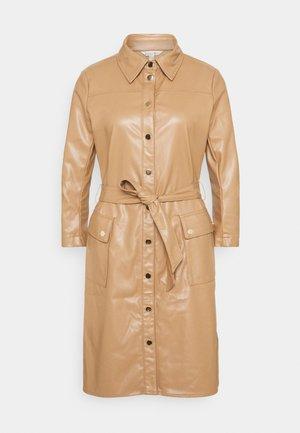 DRESS - Košilové šaty - cappuccino