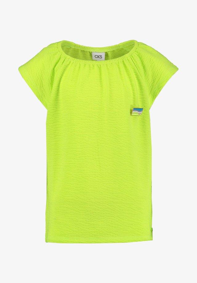 INORA - Basic T-shirt - bio lime