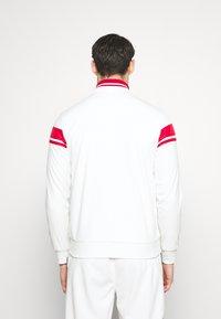 Sergio Tacchini - TRACKTOP YOUNGLINE - Sportovní bunda - blanc de blanc/tango red - 2
