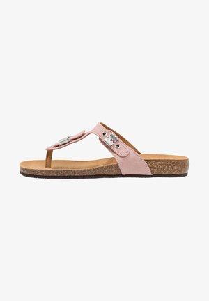 BIMINI  - Sandály s odděleným palcem - hell rosa