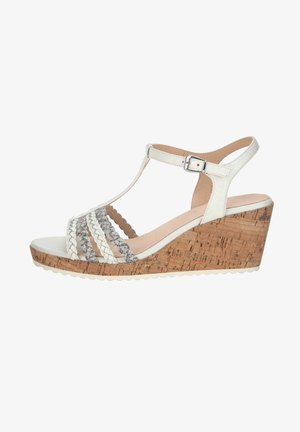 Wedge sandals - weiß