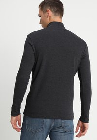 Samsøe Samsøe - MERKUR - Long sleeved top - dark grey melange - 2
