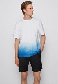 BOSS - Print T-shirt - white - 0