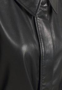 Selected Femme - SLFSOLA DRESS - Shirt dress - black - 2
