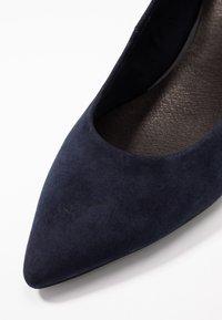 s.Oliver BLACK LABEL - Classic heels - dark blue - 2