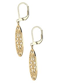 Elli - ORNAMENT FLORAL - Earrings - gold-coloured - 3