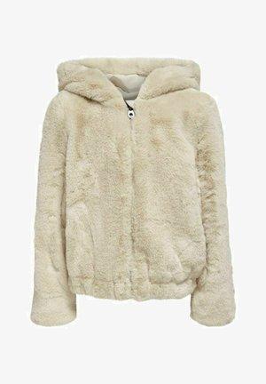 JACKE KUNSTFELL - Winter jacket - beige