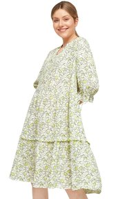 comma casual identity - Day dress - offwhite leaf - 0