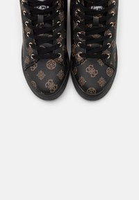 Guess - REMMY - Sneakers hoog - brown/ocra - 5