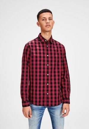 JJEGINGHAM - Camicia - red