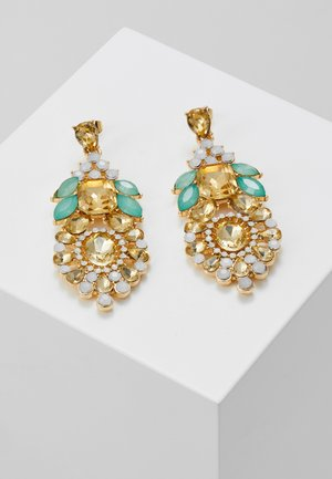 PCPEACH EARRINGS - Earrings - gold-coloured