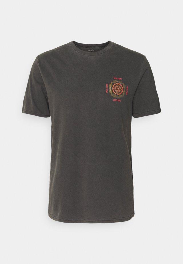 PSYCHONIC TEE - Print T-shirt - black