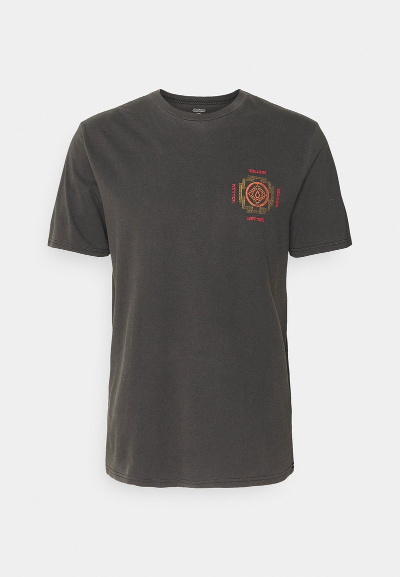 Volcom - PSYCHONIC S/S TEE - T-shirt con stampa - black