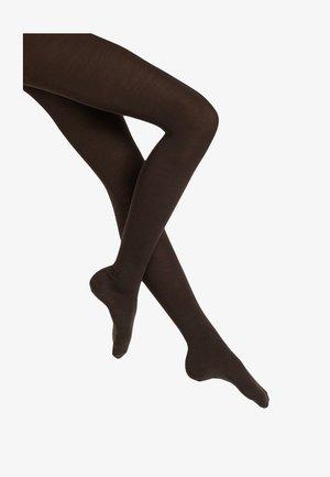 Tights - dark brown