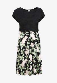 Buffalo - Jersey dress - schwarz rosa bedruckt - 5