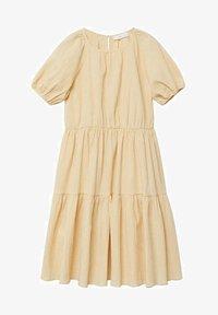 Mango - OHIO - Robe d'été - pastel yellow - 0
