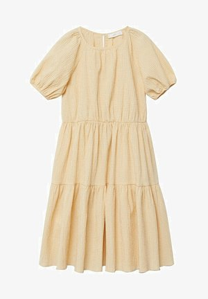OHIO - Day dress - pastel yellow