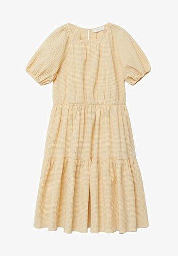 OHIO - Robe d'été - pastel yellow