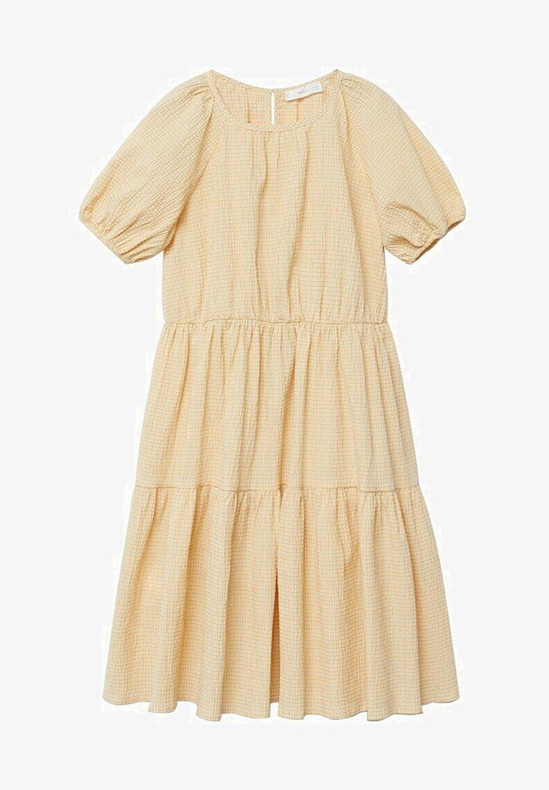 Mango - OHIO - Robe d'été - pastel yellow