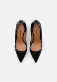 Pura Lopez - High heels - metal black - 4