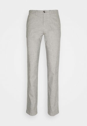 DENTON CHINO WOOL LOOK FLEX - Pantalones chinos - grey