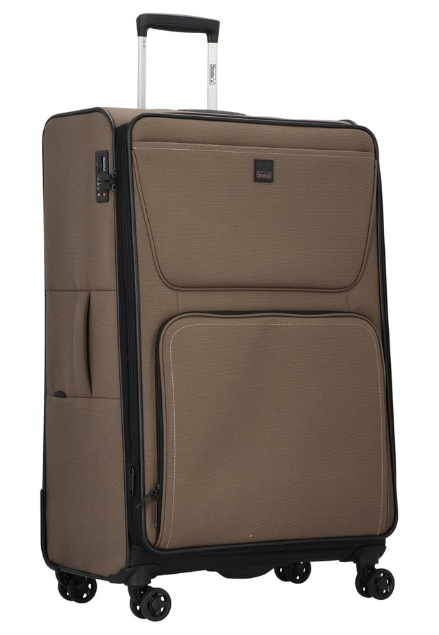 BENDIGO - Wheeled suitcase - khaki