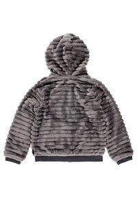 Boboli - MIT FELL UND MÜTZE FÜR MÄDCHEN - Winter jacket - anthracite - 1
