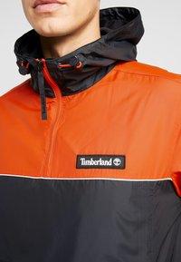 Timberland - HOODY - Windbreaker - spicy orange/black - 5