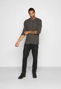 YOURTURN - UNISEX - Long sleeved top - dark gray - 1