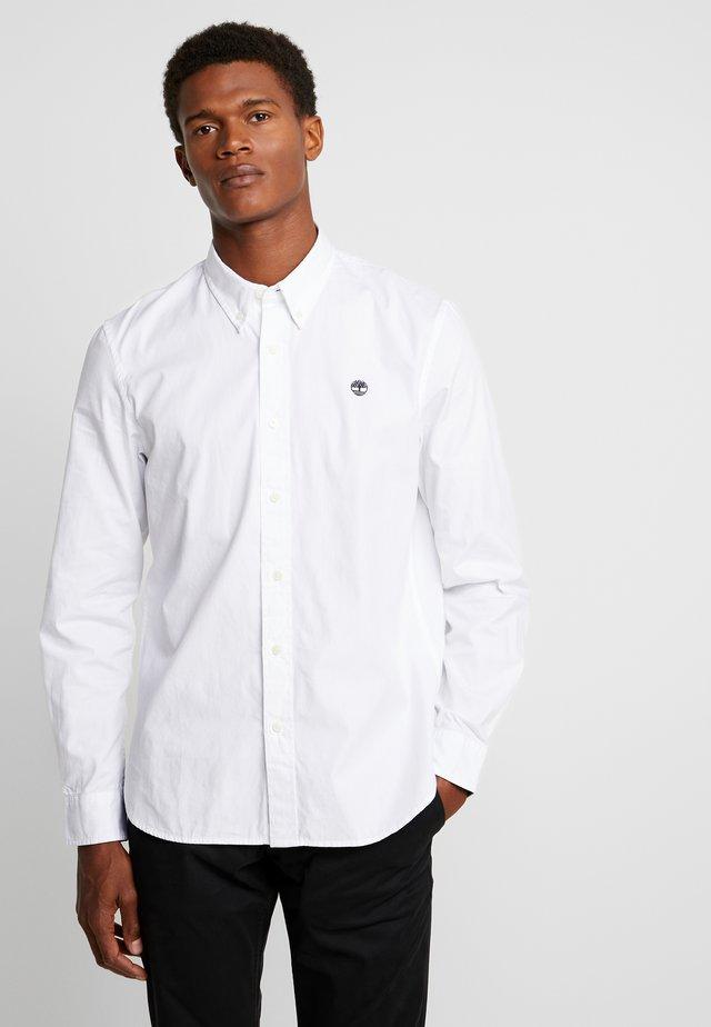 MILFORD SOLID OXFORD SLIM - Shirt - white