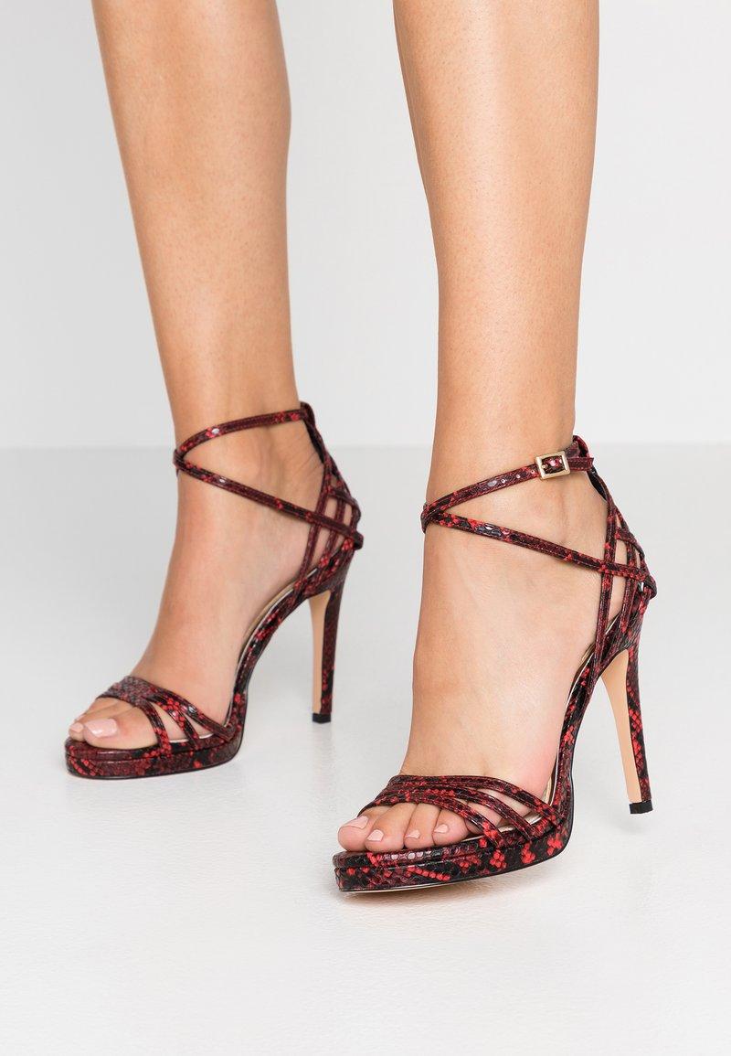 Buffalo - FIRA - High heeled sandals - black