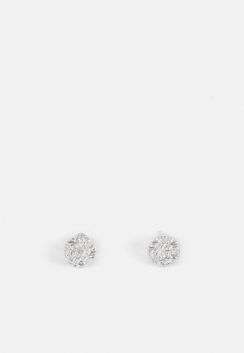 SNÖ of Sweden - DAY SMALL EAR PLAIN - Oorbellen - silver-coloured