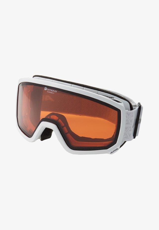 SCARABEO - Ski goggles - white