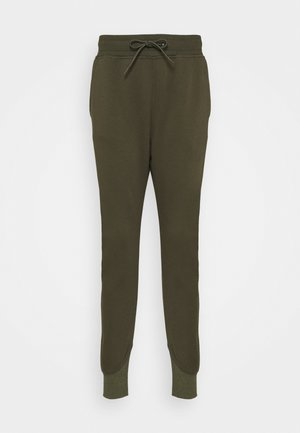 PREMIUM CORE TAPERED PANT - Tracksuit bottoms - combat