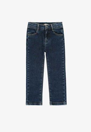Straight leg jeans - blue indigo
