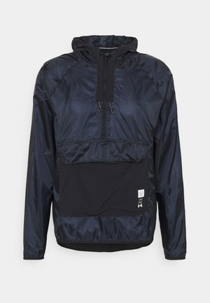 RUN ANYWHERE ANORAK - Løbejakker - black
