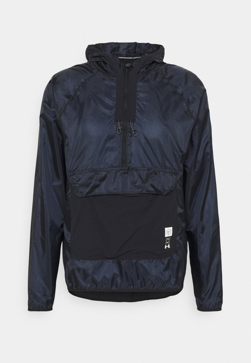 Under Armour - RUN ANYWHERE ANORAK - Sports jacket - black