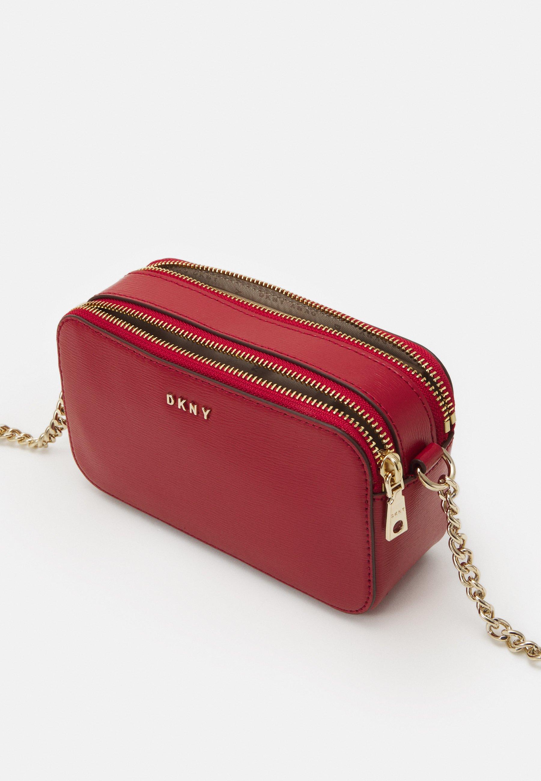 DKNY BRYANT CAMERA BAG SUTTON - Skulderveske - bright red/rød 9htmBtzJxlISfWW