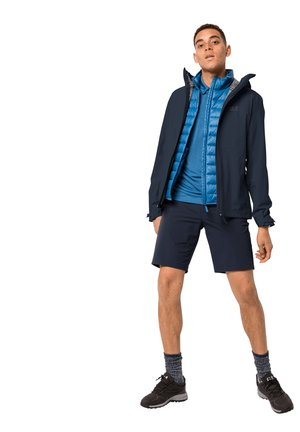 Waterproof jacket - night blue