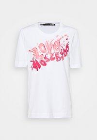 Love Moschino - Print T-shirt - light pink - 0