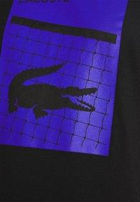 Lacoste Sport - GRAPHIC - Print T-shirt - black - 3