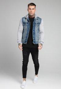 SIKSILK - JACKET - Denim jacket - blue denim - 1