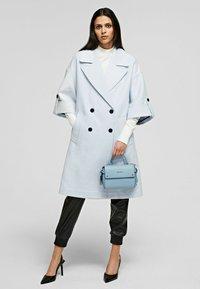 KARL LAGERFELD - Classic coat - artic ice - 1