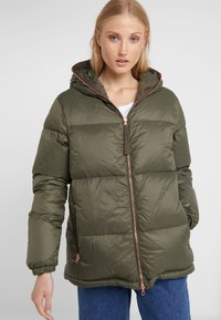 True Religion - JACKET MILITARY - Kurtka puchowa - dark green - 0