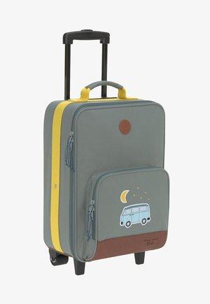 ADVENTURE - Wheeled suitcase - green/yellow